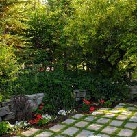 BYUI Garden Steps