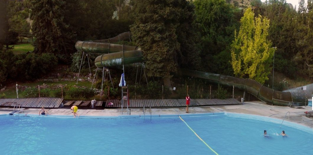 outdoor swimming pool in Heise near Kelly Canyon