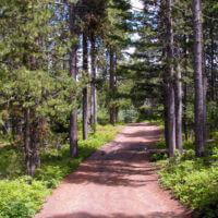 Packsaddle Lake smooth road