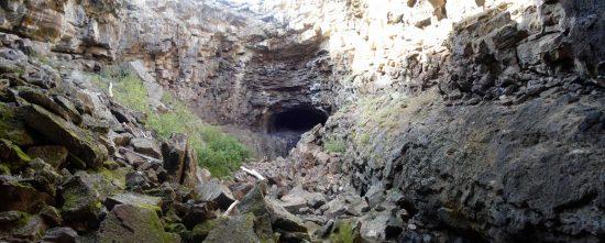 The Ice Caves - Caves around rexburg