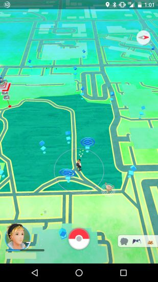 Pokemon Go Gardens screenshot