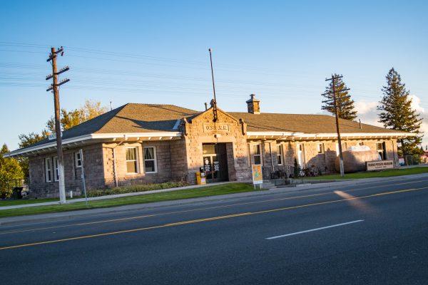 Exterior view of Idaho Potato Museum