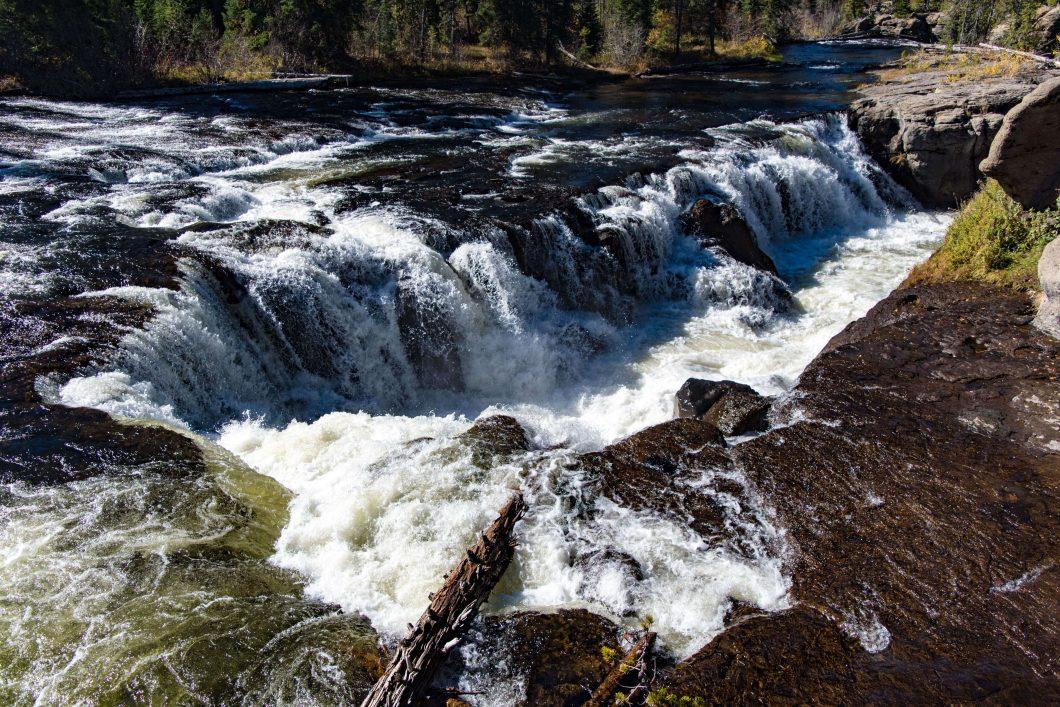 View of Sheep Falls