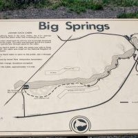 Big Springs Sign