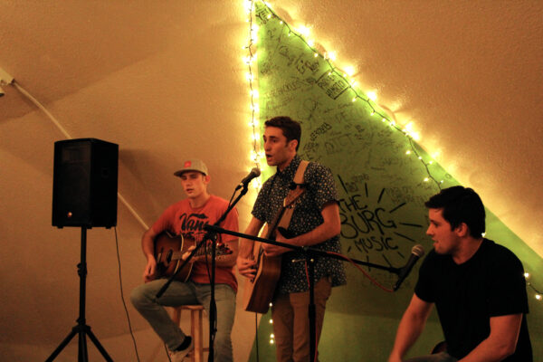 Local bands perform
