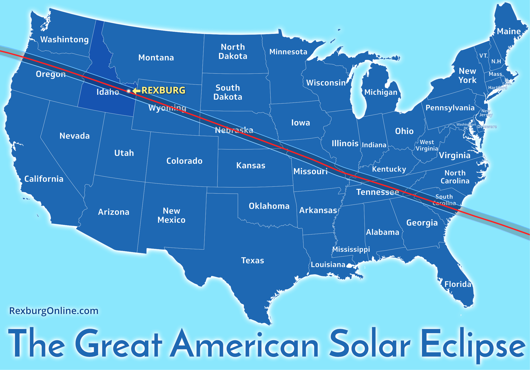 Everything You Need To Know About The Rexburg Solar Eclipse