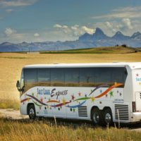 bus with tetons