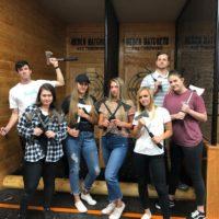 heber axe throwing team