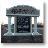Idaho Eye Center Sign